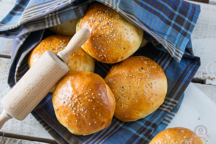 Softe Hamburgerbrötchen