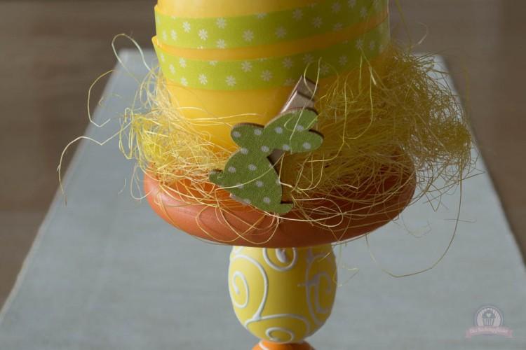 Kerzenständer im *Osterlook* DIY