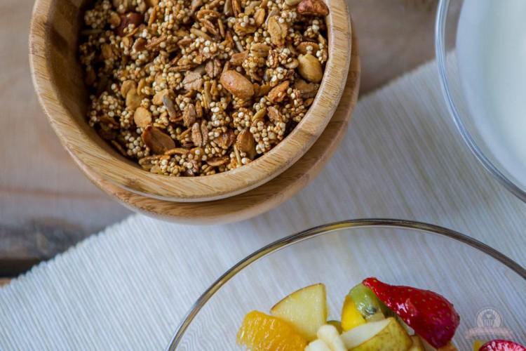 Chrunchy Quinoa