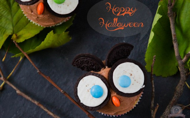 Eulen-Muffins – *Hits for Kids* und für die Halloween Party…