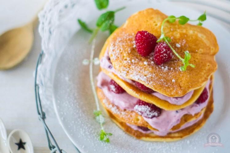 Ein fluffig warmes Frühstückchen – American Pancakes