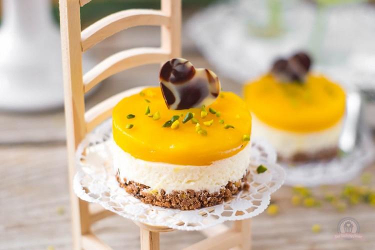 Mangotörtchen – fruchtige Frische! Genau das richtige für den kommenden Frühling…