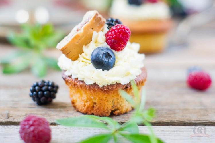 Wild Berry Cupcakes – sommerliche Schnittchen aus der Degustabox