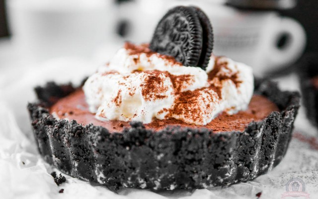 """Sahne-Pudding-Törtchen in Schokokeks-Tartelettes – nachgebacken aus """"Mutti kocht am besten"""""""