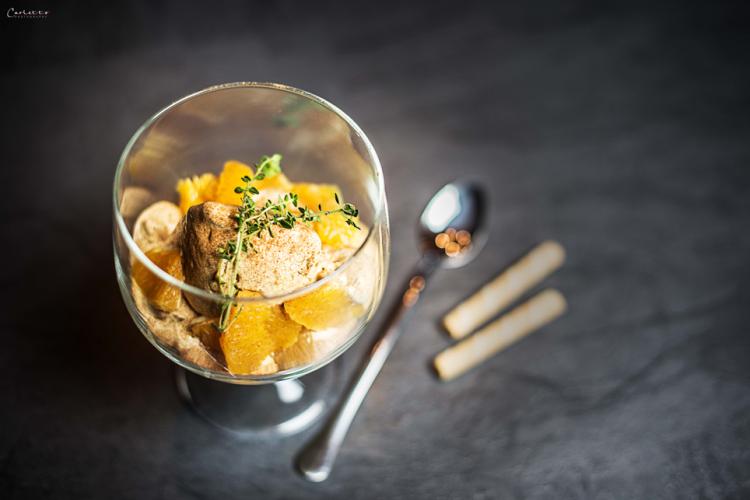 Zimteis mit marinierten Orangen – ein Gastbeitrag von Cookingcatrin